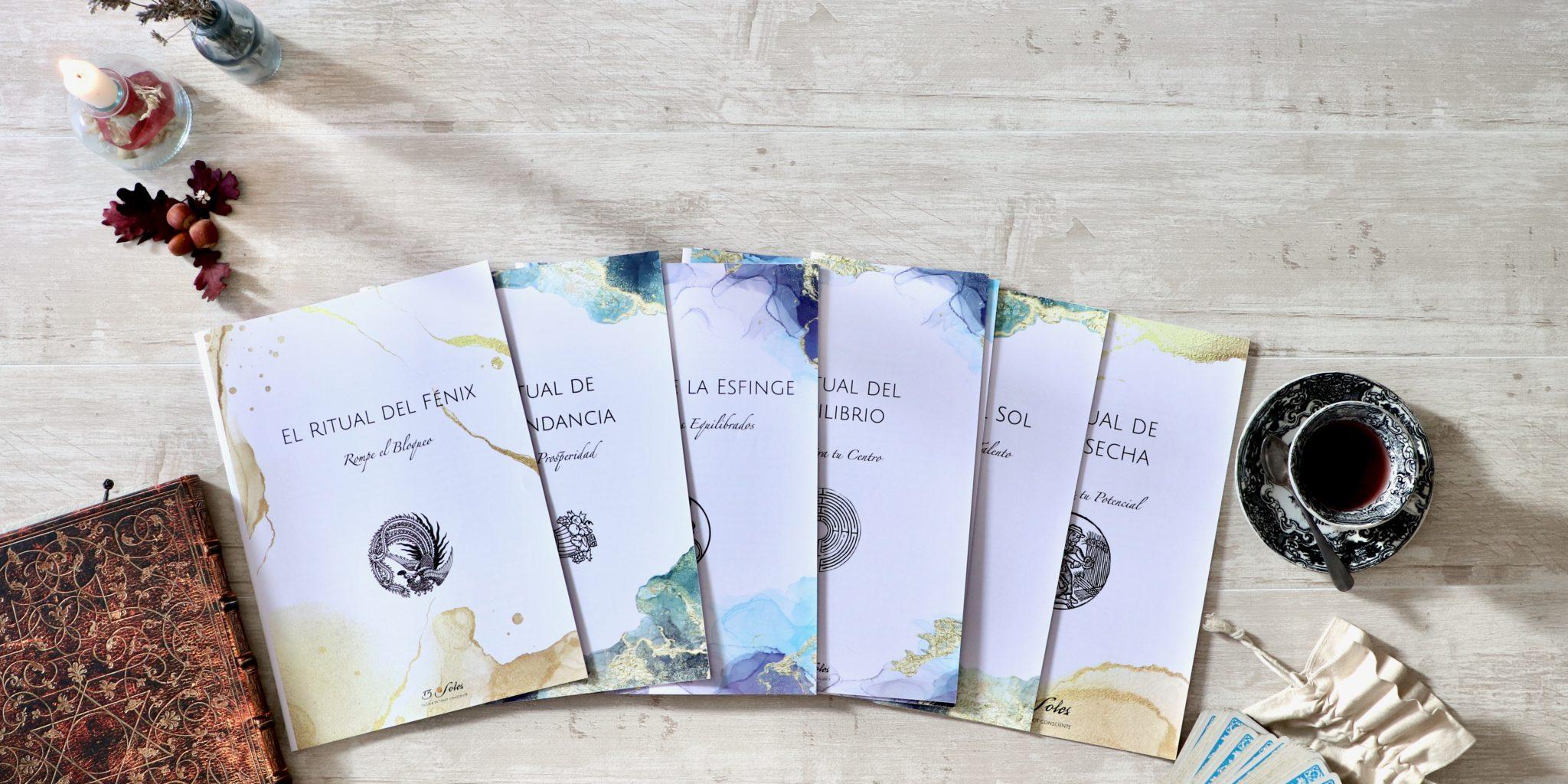 Cuadernos rellenables tarot