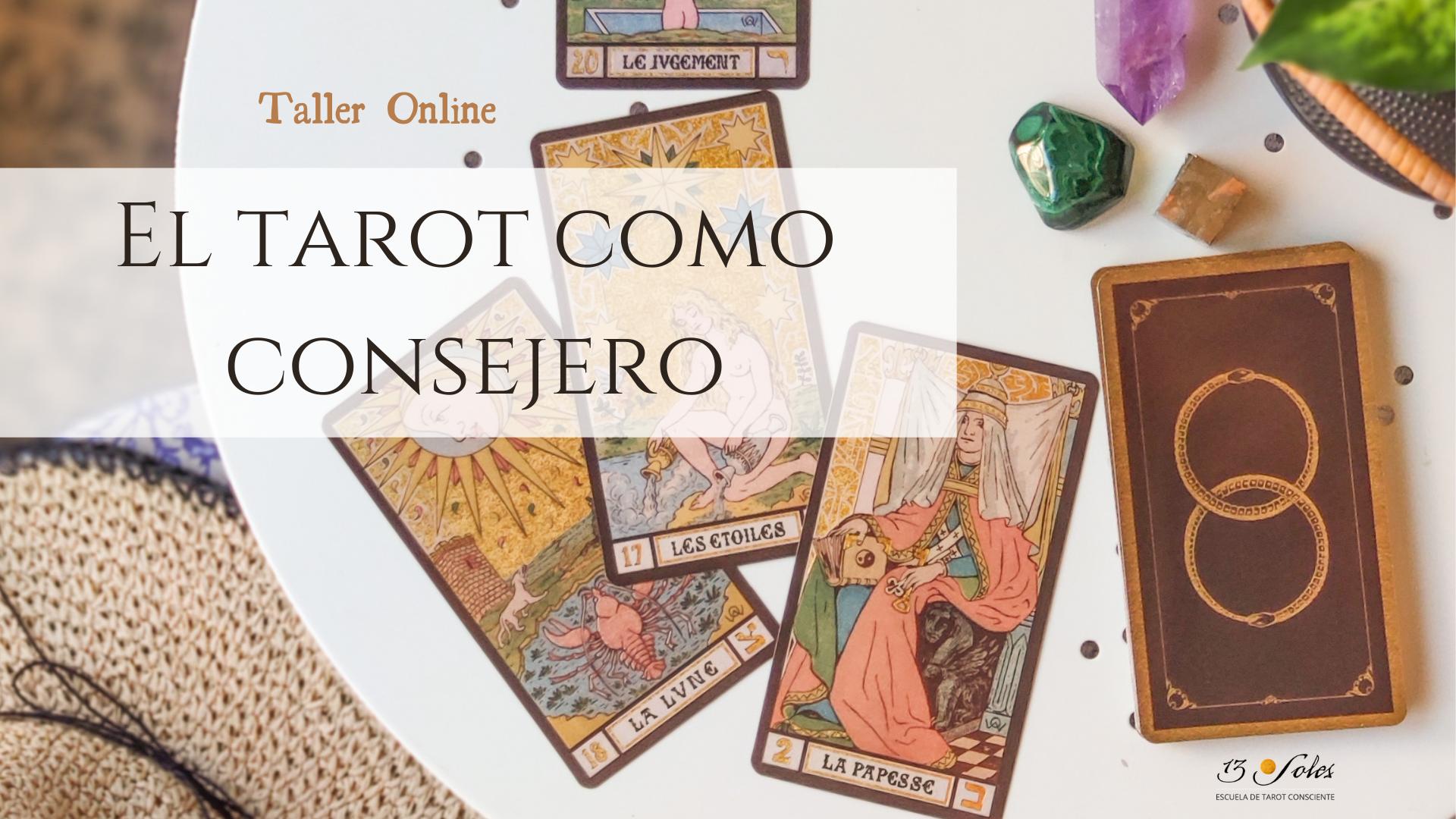 Taller online consejos del tarot